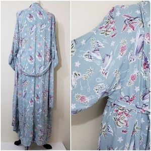 Soft Surroundings Island Getaway Robe Size Large